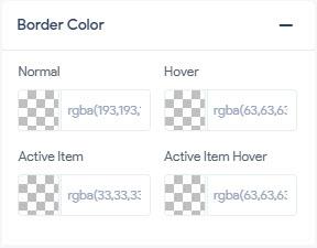 Trigger Icon - Border Color