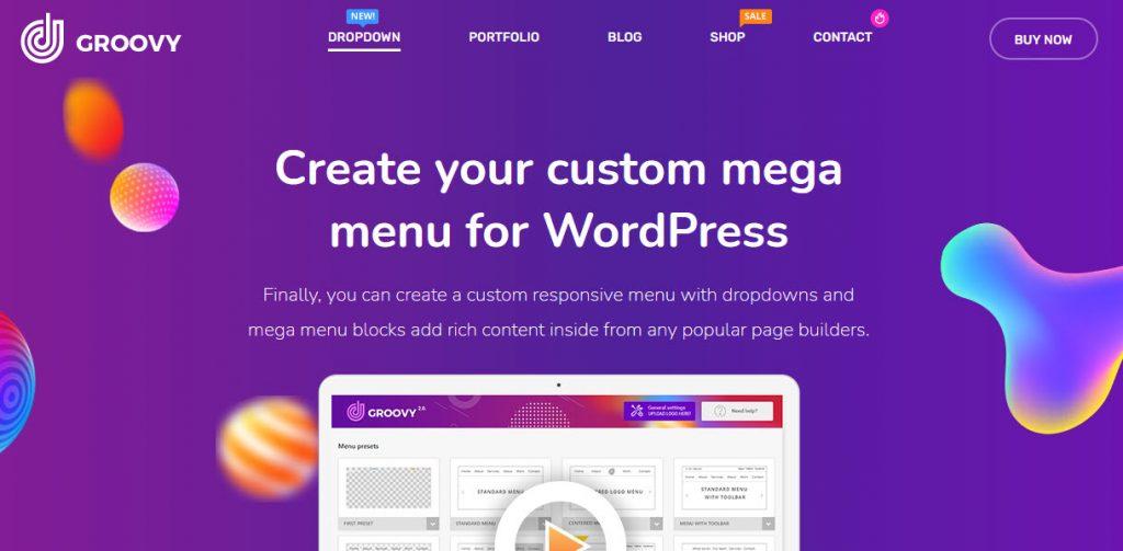 9 Great WordPress Mega Menu Plugins for Better Site Navigation - Groovy