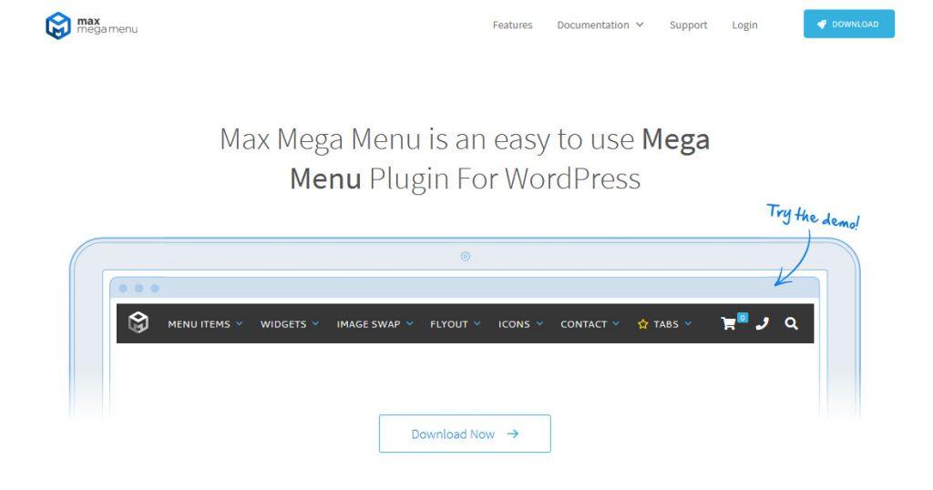 9 Great WordPress Mega Menu Plugins for Better Site Navigation - Max Mega Menu