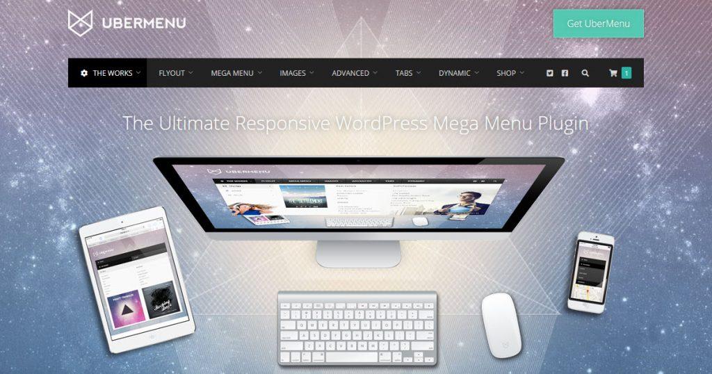 9 Great WordPress Mega Menu Plugins for Better Site Navigation - Uber Menu Plugin